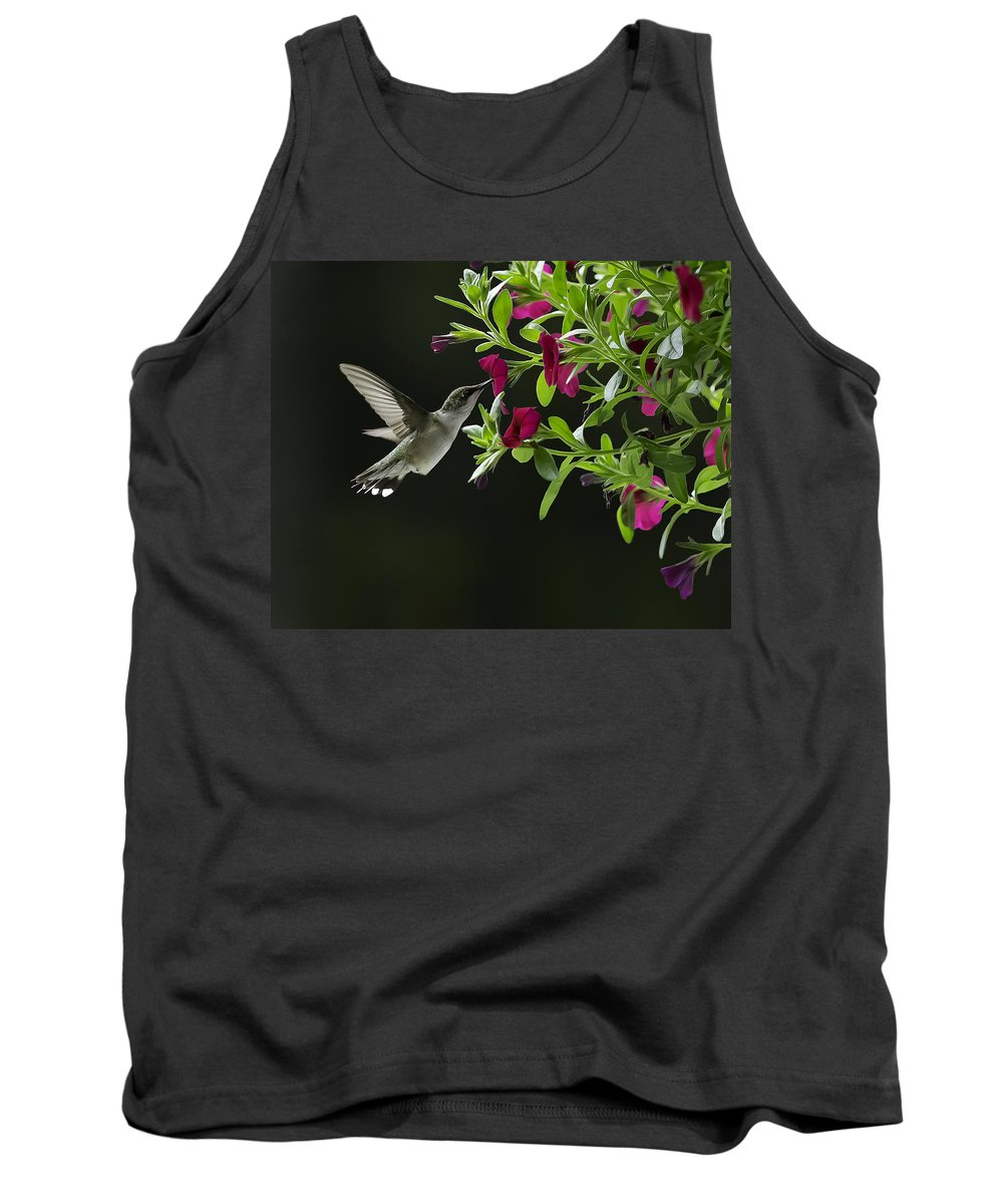 Bird Tank Top featuring the photograph Sweet Nectar by David Johnson