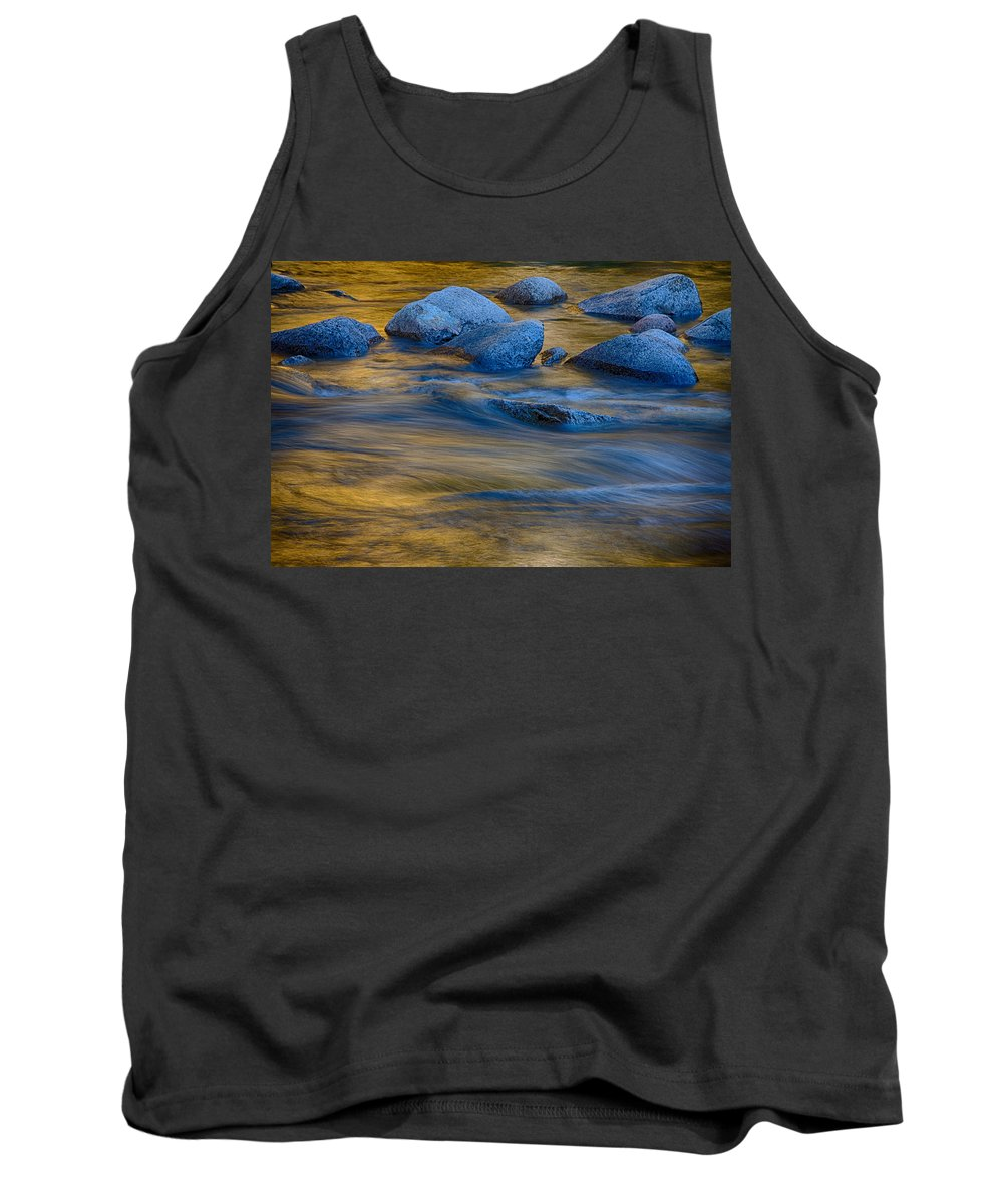 Autumn Foliage New England Tank Top featuring the photograph Swiftriver Reflections by Jeff Folger