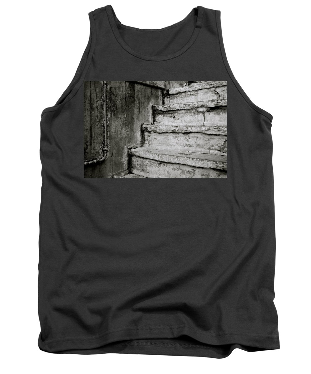India Tank Top featuring the photograph Urban Surreal by Shaun Higson