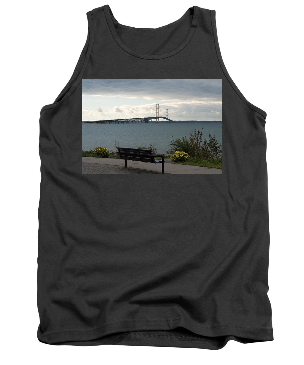 Clouds Tank Top featuring the photograph Take A Seat by Linda Kerkau