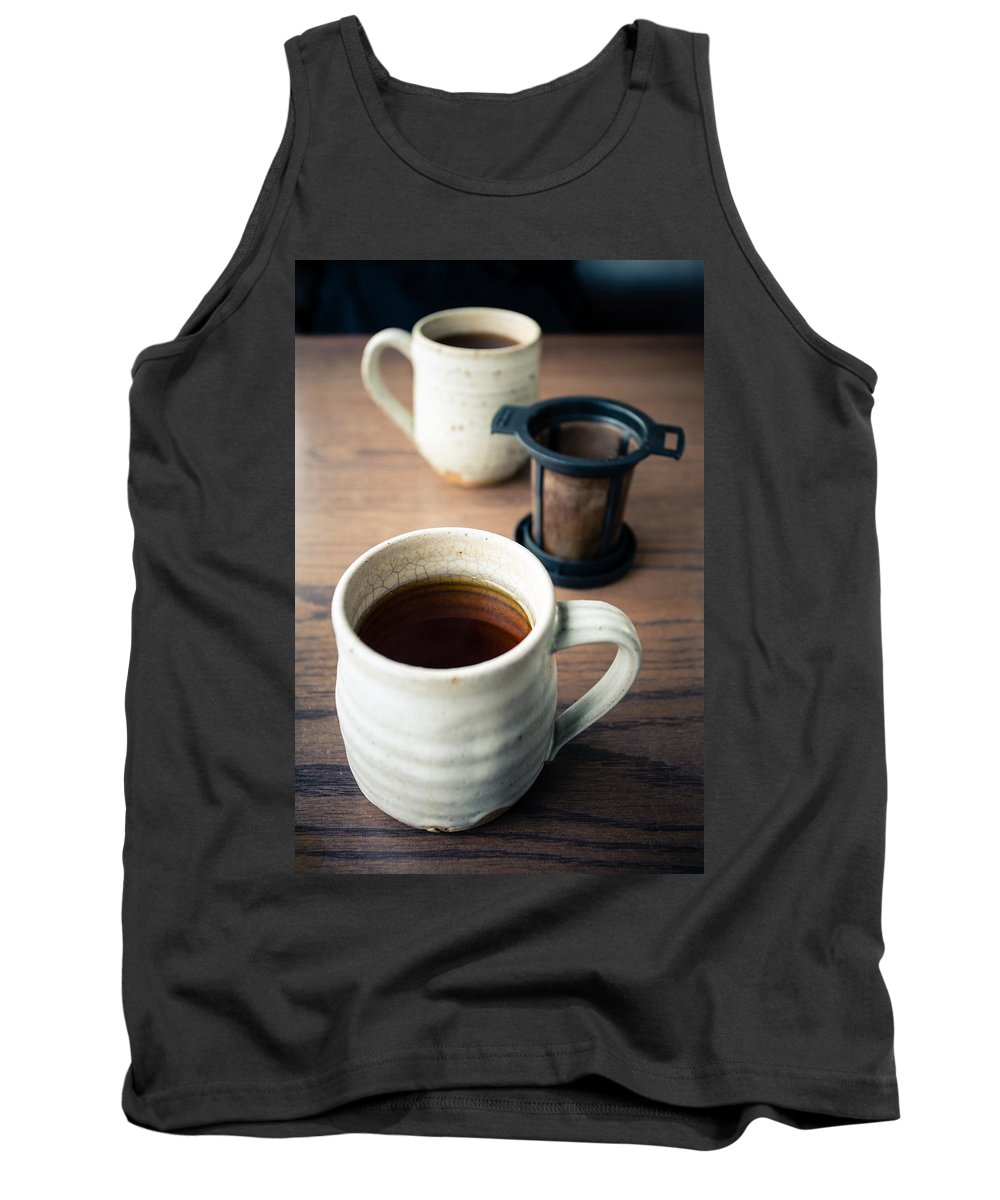 Tea Tank Top featuring the photograph Tea For Two by Lauri Novak