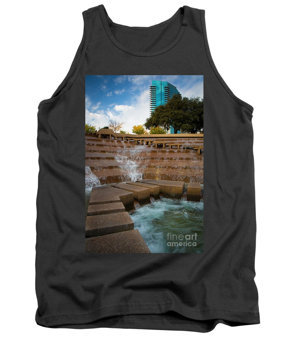 America Tank Top featuring the photograph Texas Water Gardens by Inge Johnsson