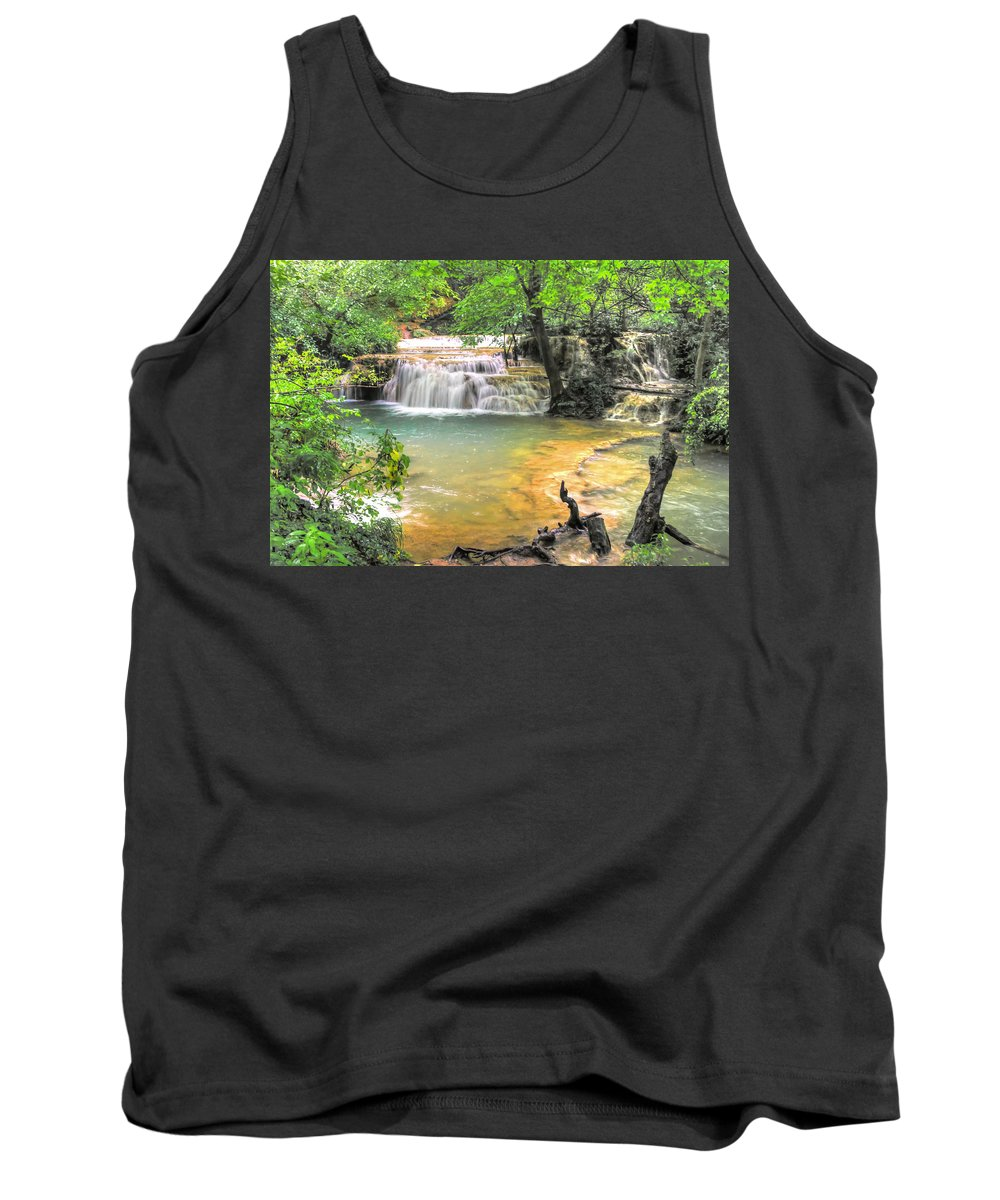 Famous Tank Top featuring the photograph The Amazing Travertines Of Krushuna by Eti Reid