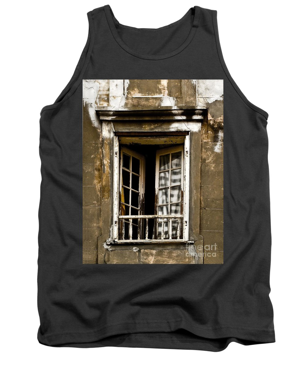 Balcony Tank Top featuring the photograph The Balcony by Frances Hattier