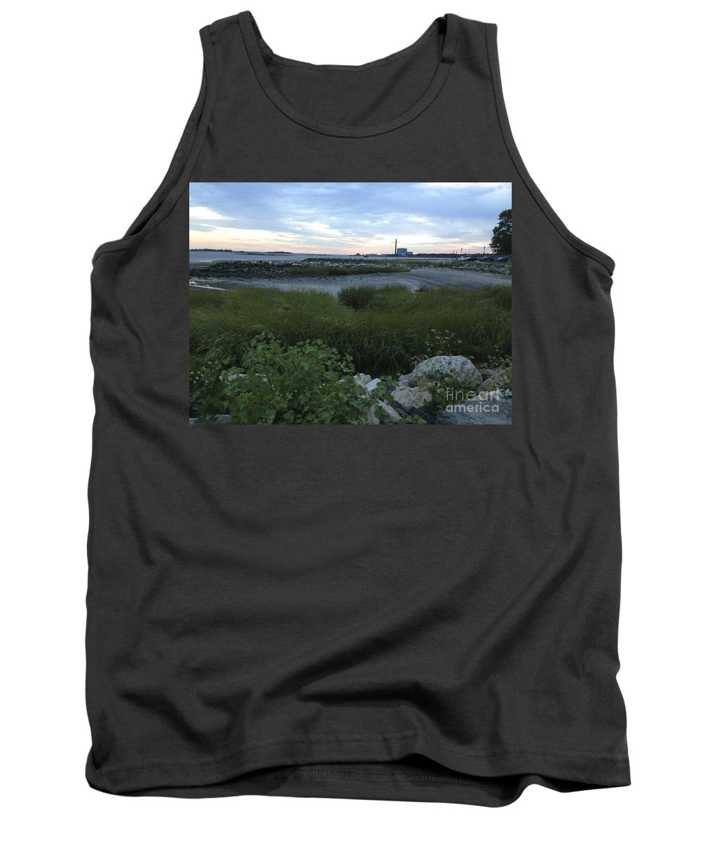 Shore Tank Top featuring the photograph The Beauty Of Connecticut's Shoreline by Christy Gendalia