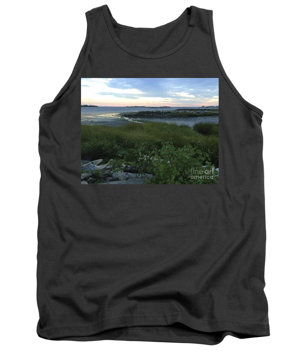 Beauty Tank Top featuring the photograph The Beauty Of Long Island Sound by Christy Gendalia