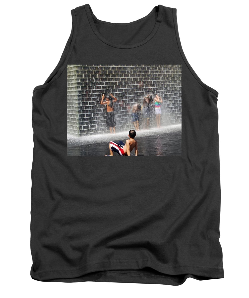 Children Tank Top featuring the photograph The Best Little Water Park In Chicago by Rick Selin