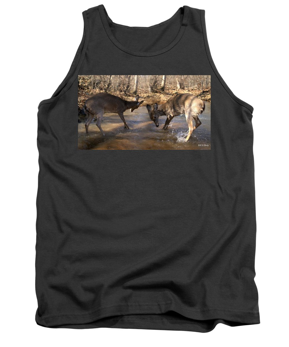 Deer Tank Top featuring the photograph The Bill And Mike Show by Bill Stephens