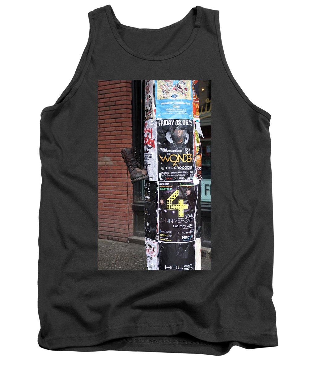 Tank Top featuring the photograph The Boot by Cathy Anderson
