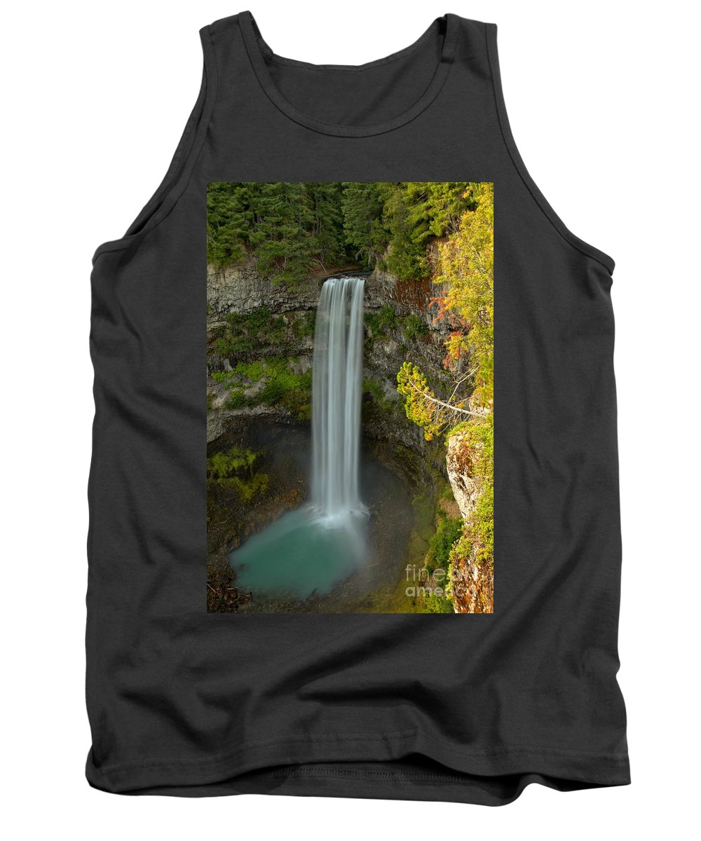 Brandywine Falls Tank Top featuring the photograph The Brandywine Plunge by Adam Jewell