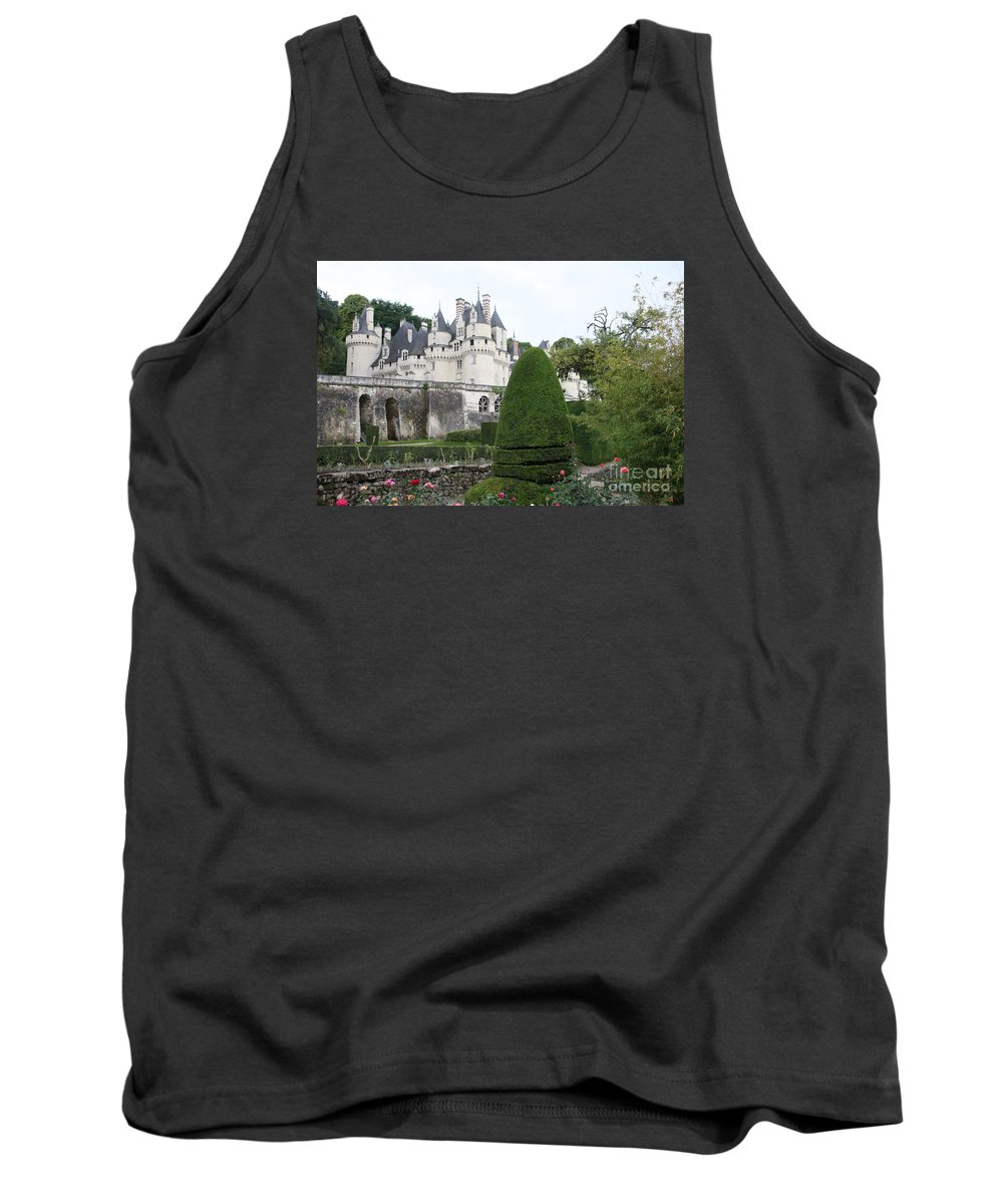 Palace Tank Top featuring the photograph The Chateau's Towers View by Christiane Schulze Art And Photography
