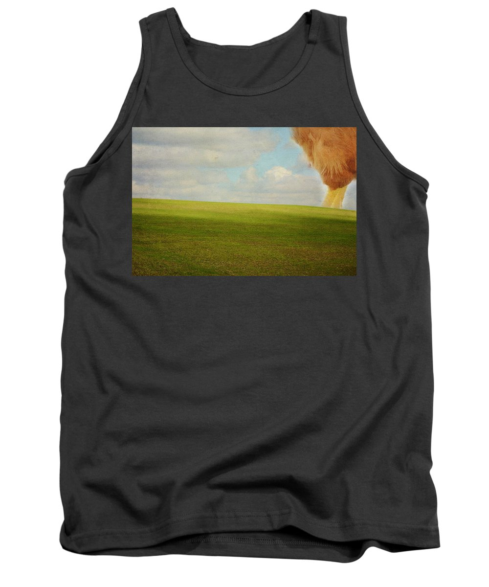 Chicken Tank Top featuring the photograph The Chicken by Christina Walker