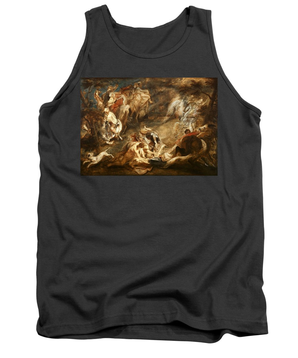 Peter Paul Rubens Tank Top featuring the painting The Conversion Of Saint Paul by Peter Paul Rubens