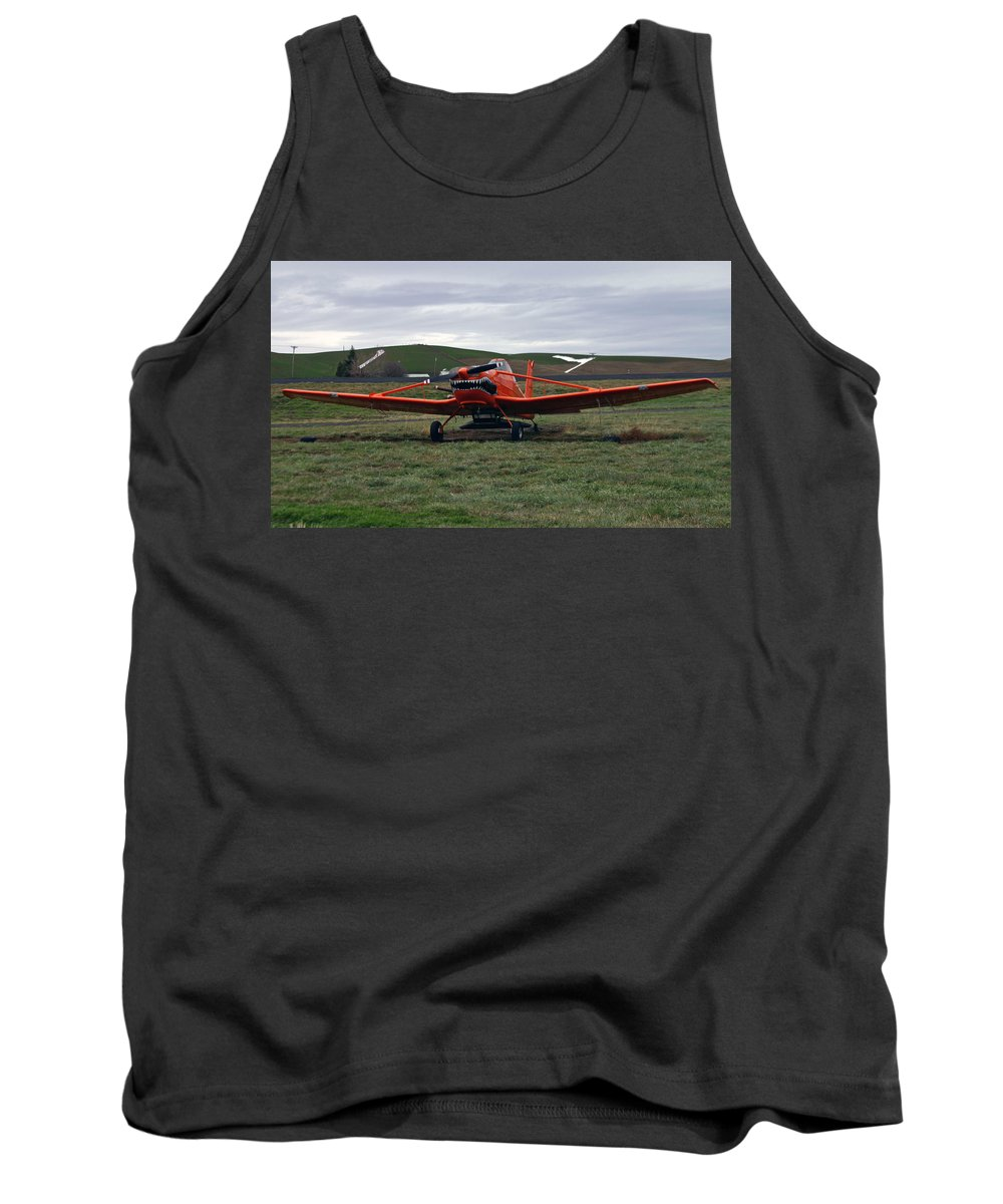 Crops Tank Top featuring the photograph The Crusty Duster by Hugh Carino