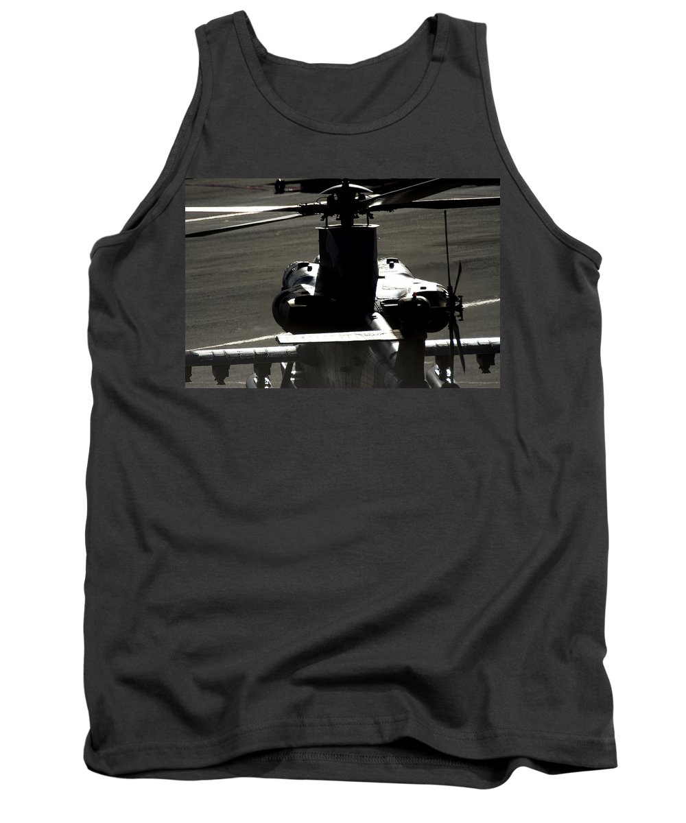 Atlas Rooivalk Tank Top featuring the photograph The Engine Of A Beast by Paul Job