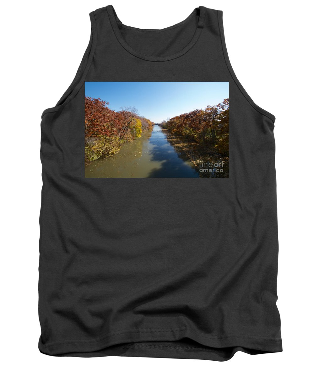 Erie Canal Tank Top featuring the photograph The Erie Canal by William Norton