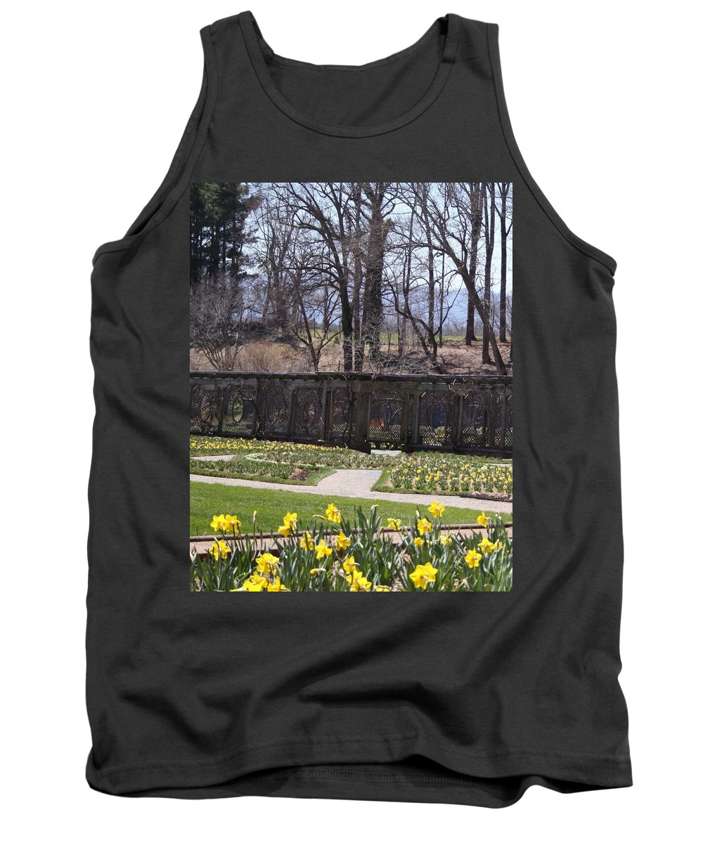 Biltmore Estate Tank Top featuring the photograph The Gardens At Biltmore Estate II by Cody Cookston