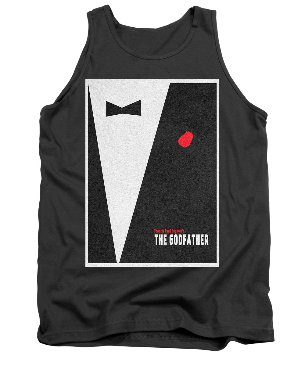 The Godfather Tank Top featuring the digital art The Godfather by Inspirowl Design