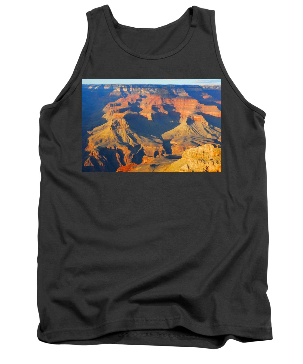 The Grand Canyon From Outer Space Tank Top featuring the photograph The Grand Canyon From Outer Space by Jpl