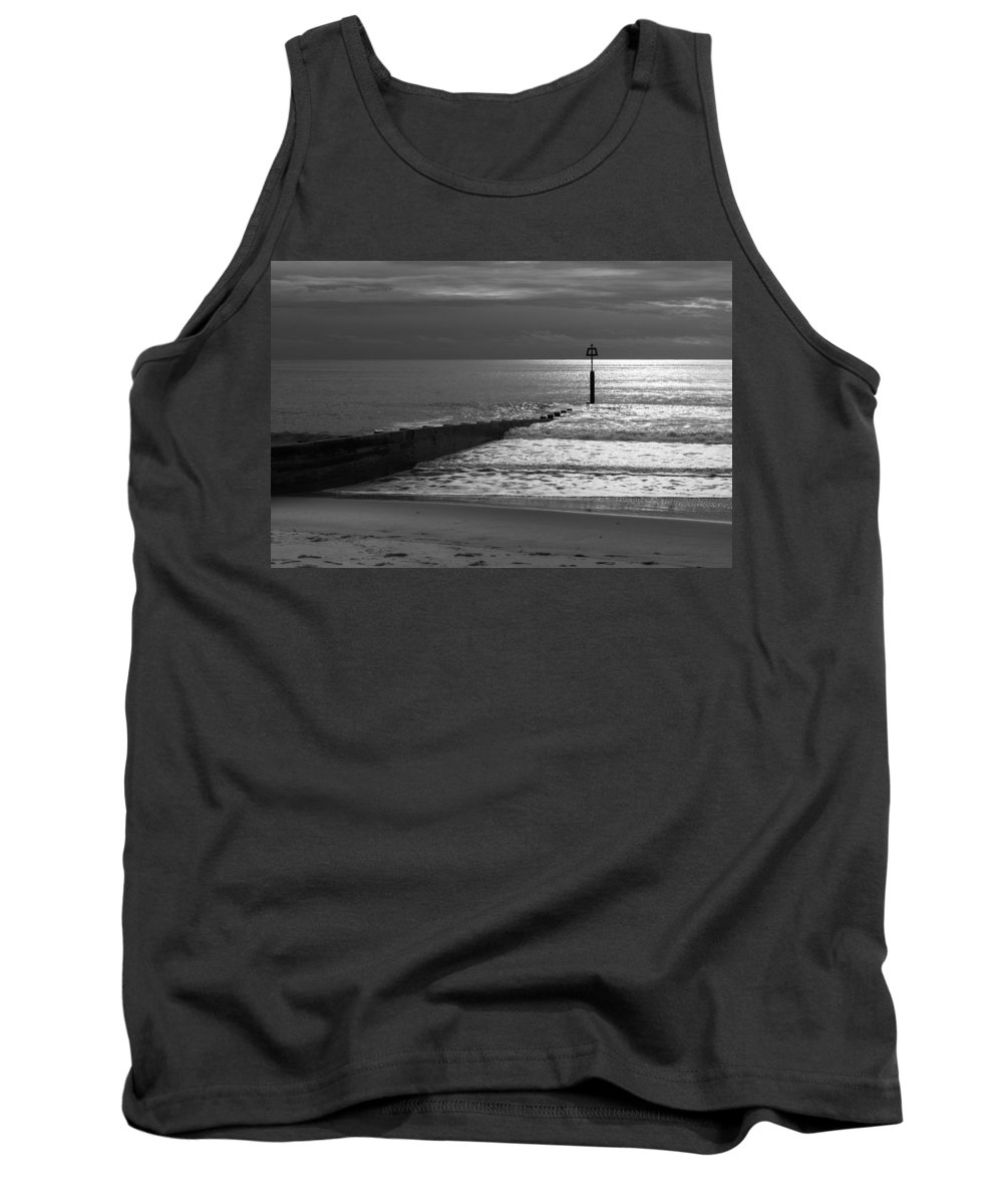 Groyne Tank Top featuring the photograph The Groyne by Chris Day