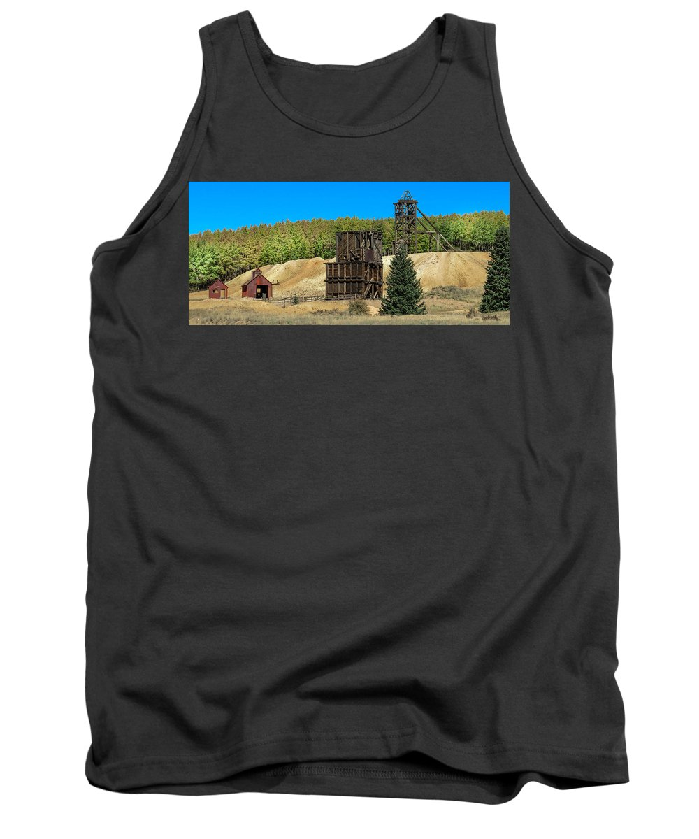 Colorado Tank Top featuring the photograph The Hoosier Mine by Dawn Key