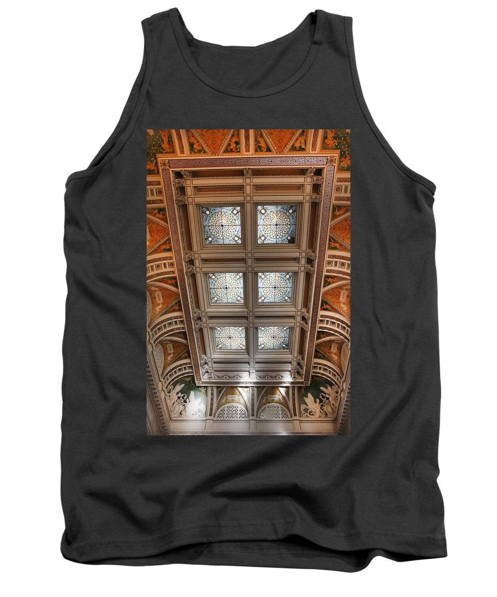 Kg Tank Top featuring the photograph The Library Of Congress by KG Thienemann