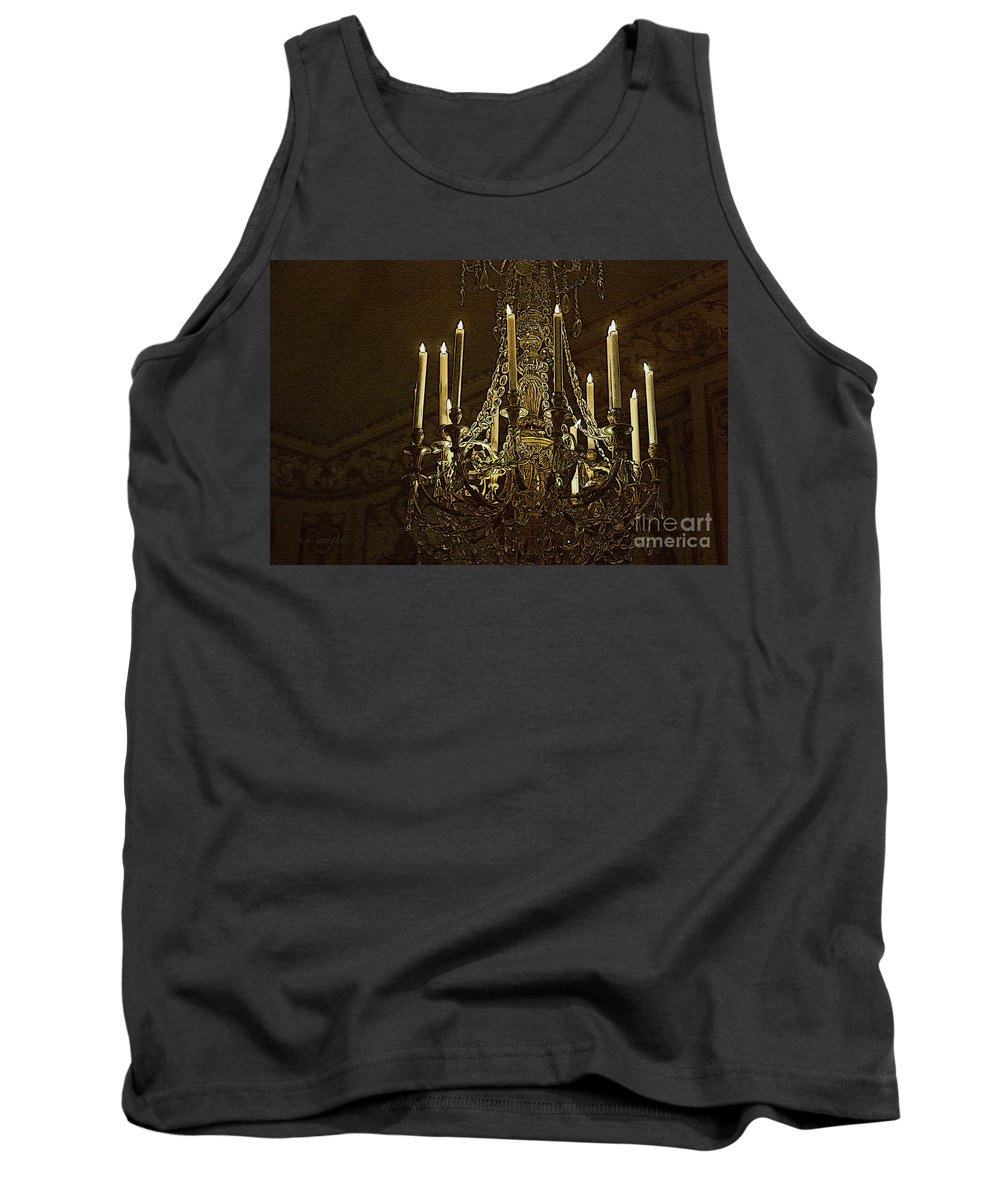 Magic Tank Top featuring the photograph Crystal Magic by Yvonne Wright