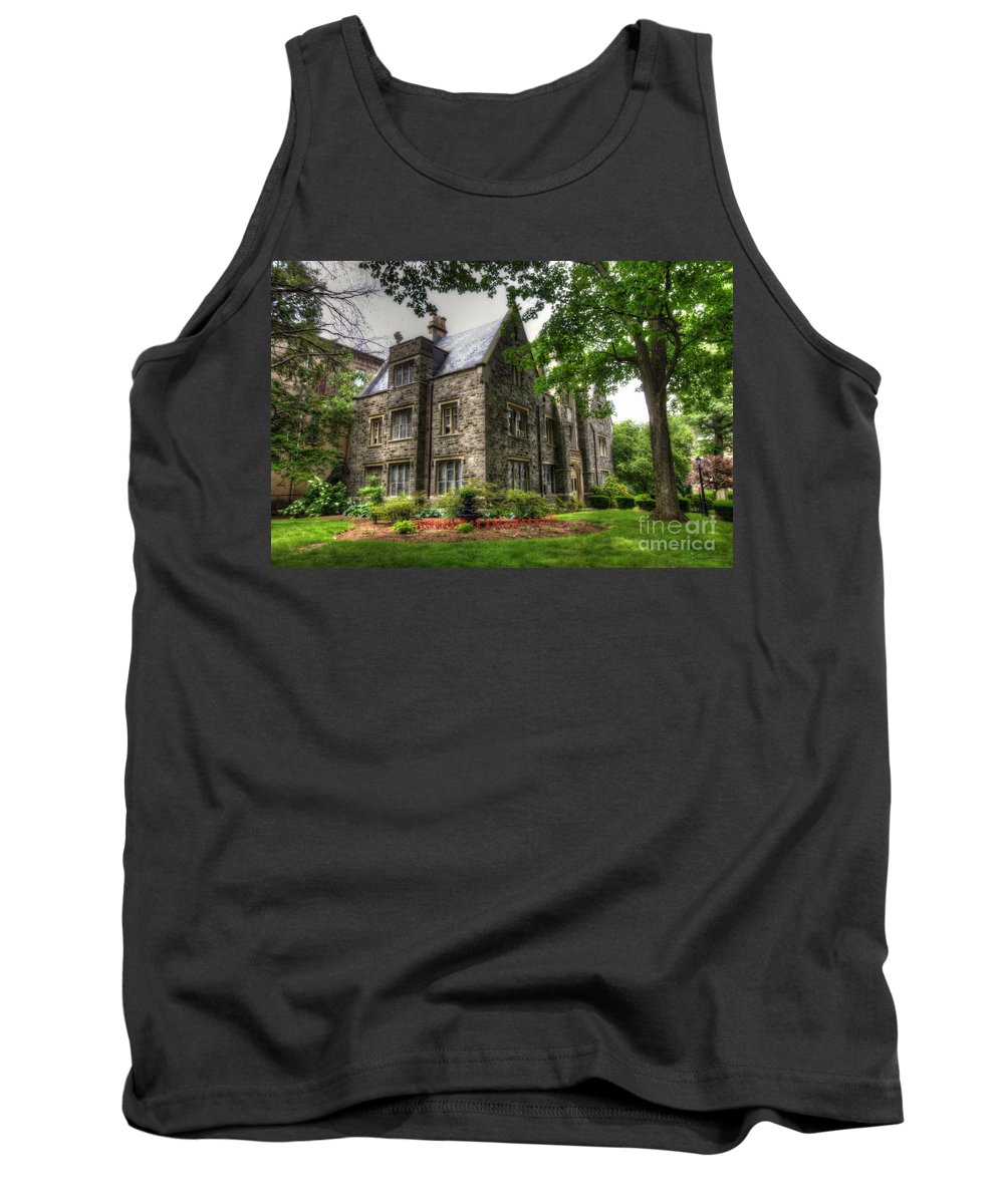 Convent Tank Top featuring the photograph The Manor by Traci Law