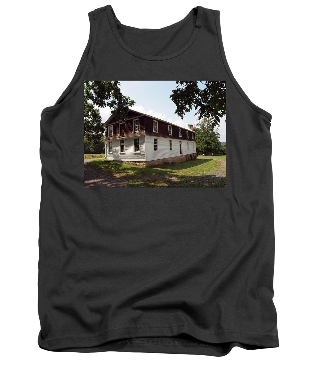 Cabins Tank Top featuring the photograph The Old Barn by Robert Margetts