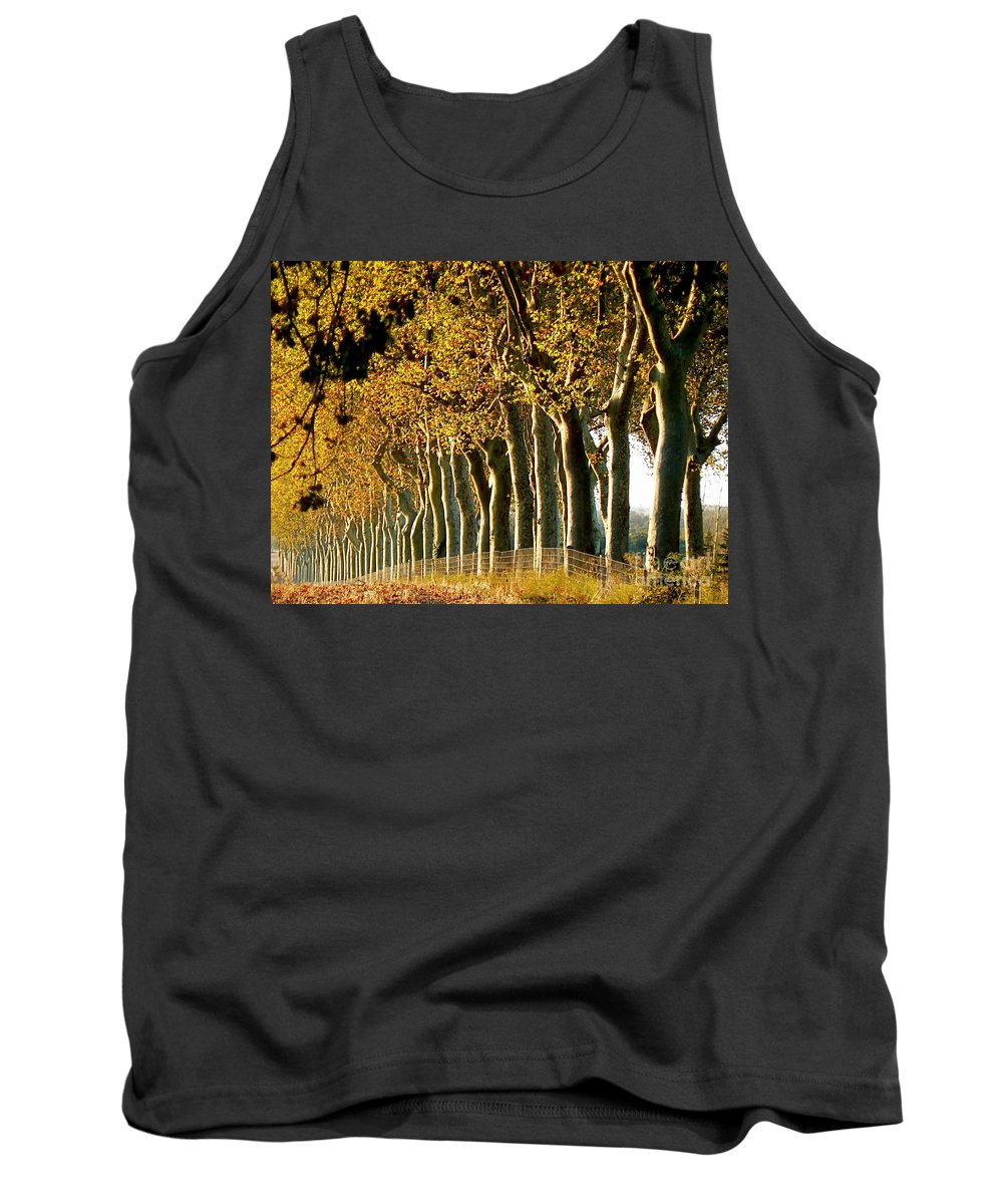 Fall Tank Top featuring the photograph The Sisters by France Art