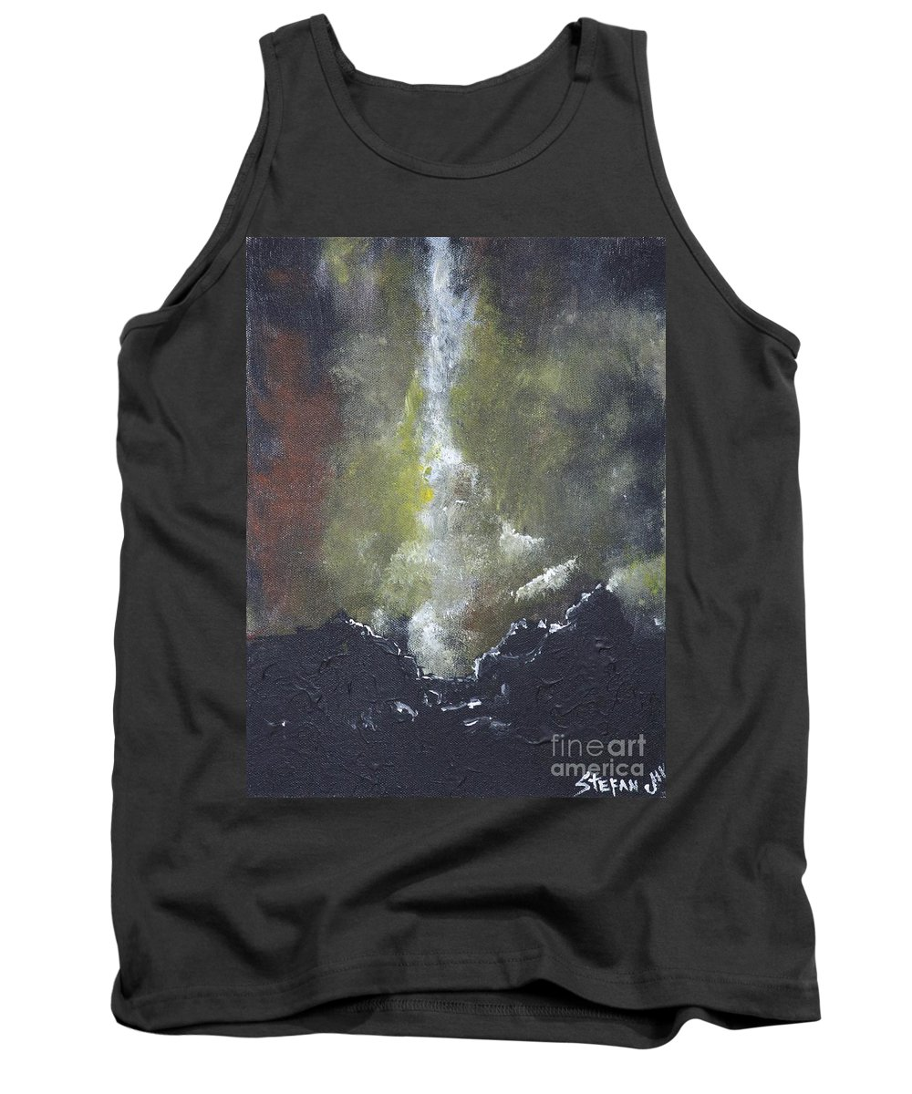 Impressionism Tank Top featuring the painting The Source by Stefan Duncan