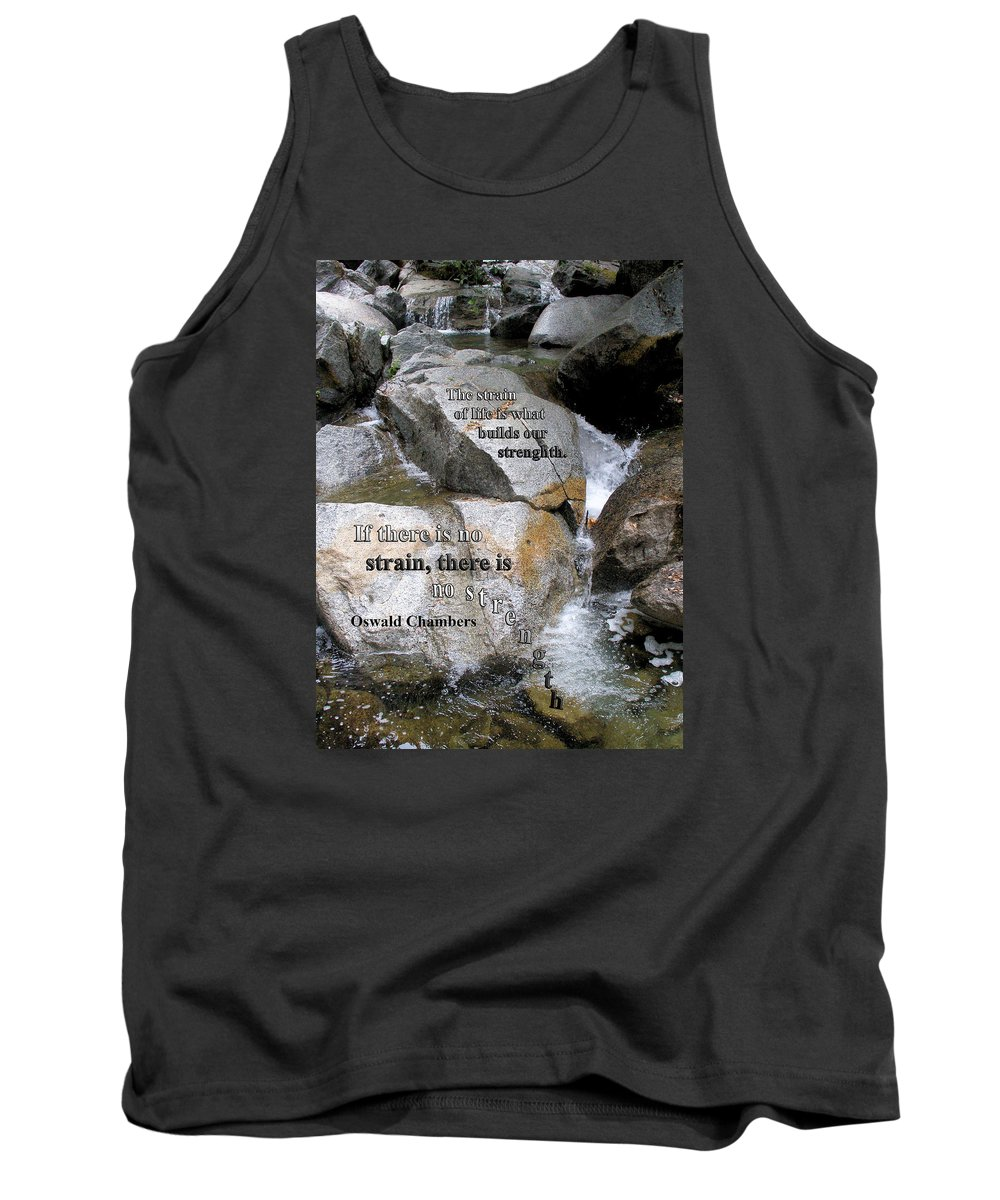 Strain Tank Top featuring the photograph The Strain Of Life... - Yosemite by Jerry Cline