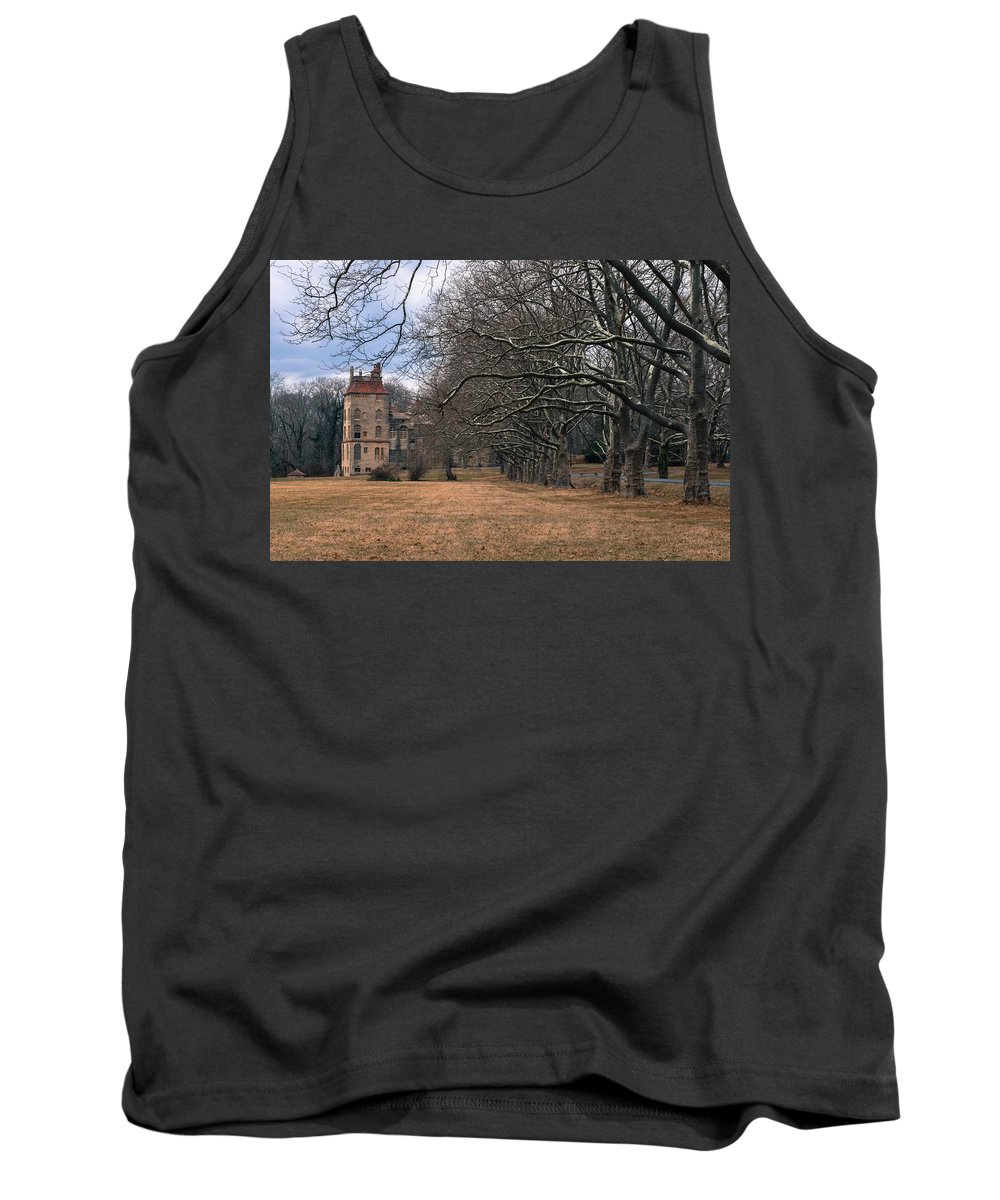 Castle Tank Top featuring the photograph The Sycamores by Scott Hafer