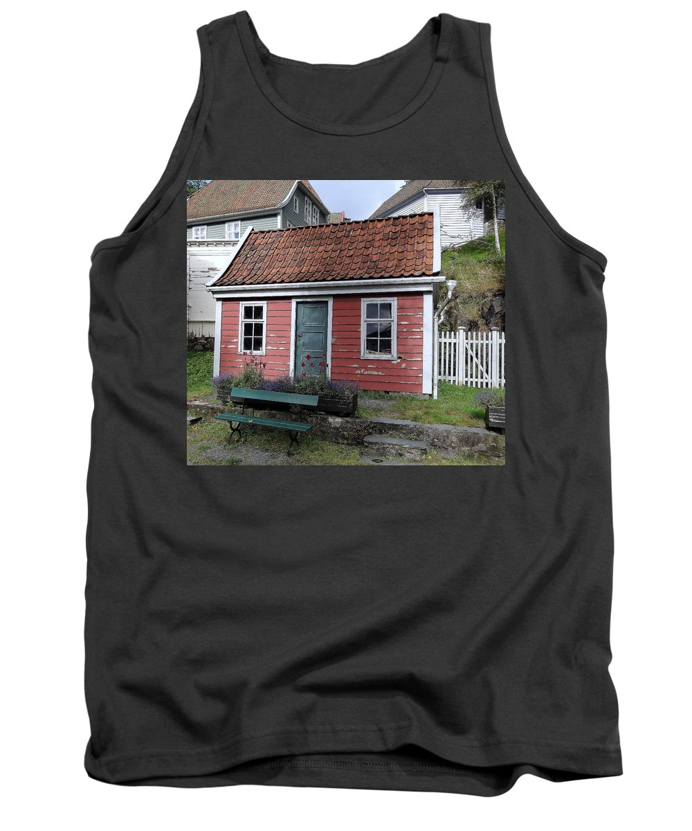 House Tank Top featuring the photograph The Tiny House by Richard Rosenshein