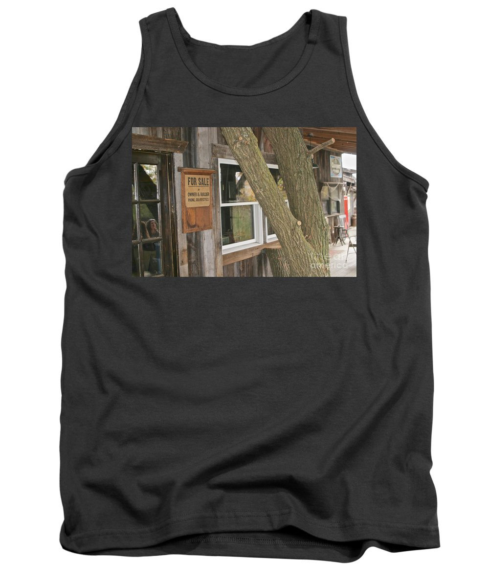 Finger Lakes Tank Top featuring the photograph The Winery by William Norton