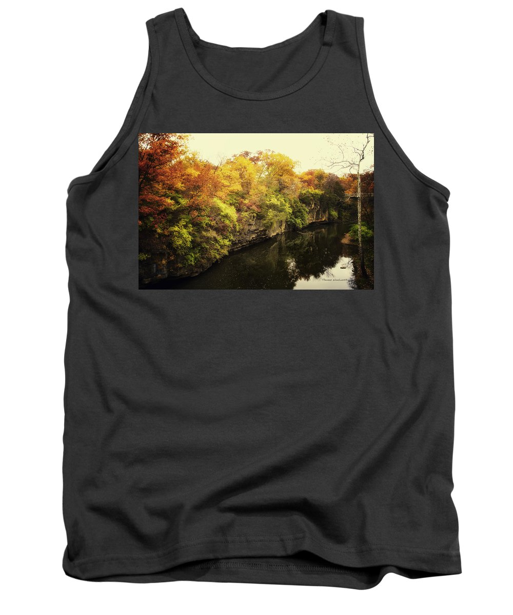 Autumn Tank Top featuring the photograph Then Autumn Arrives 07 by Thomas Woolworth