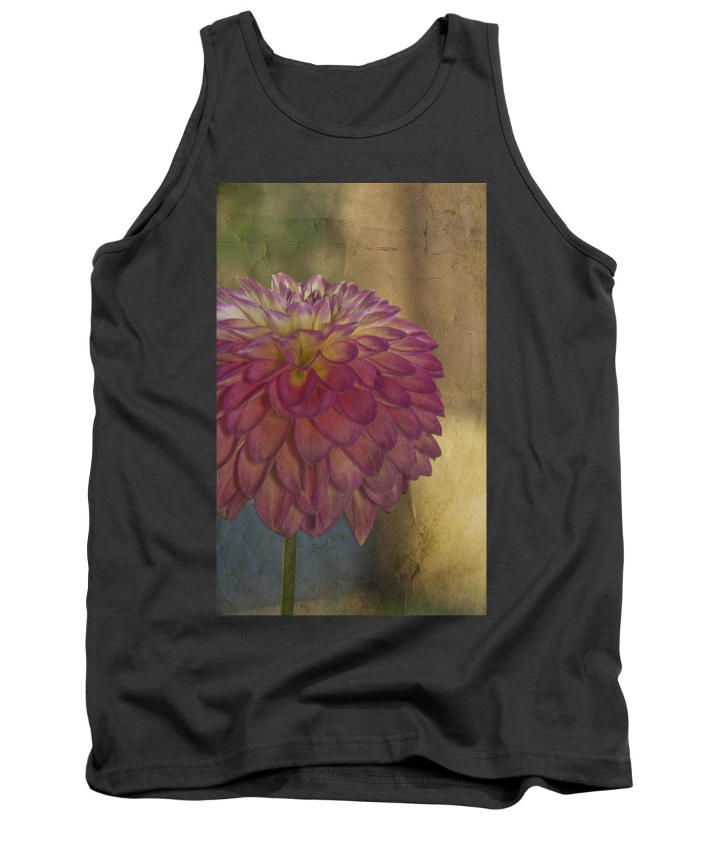 Flower Tank Top featuring the photograph There's Always Next Year by Trish Tritz