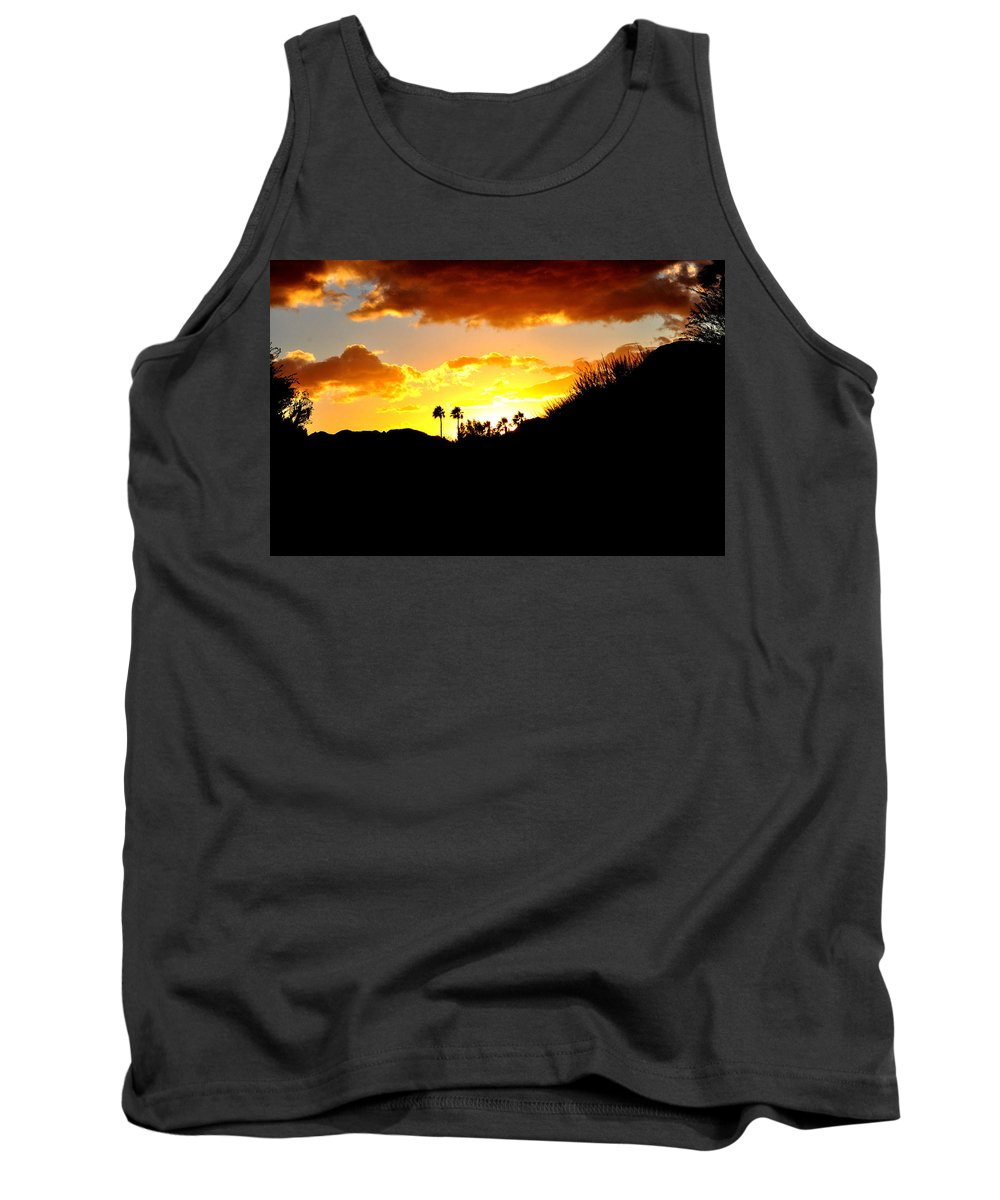 Tree Tank Top featuring the photograph There's Gold In Them Thar Hills by Jay Milo