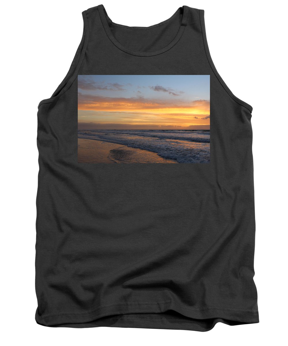 Tank Top featuring the photograph Topsail Island Sunup 2 by Rand Wall