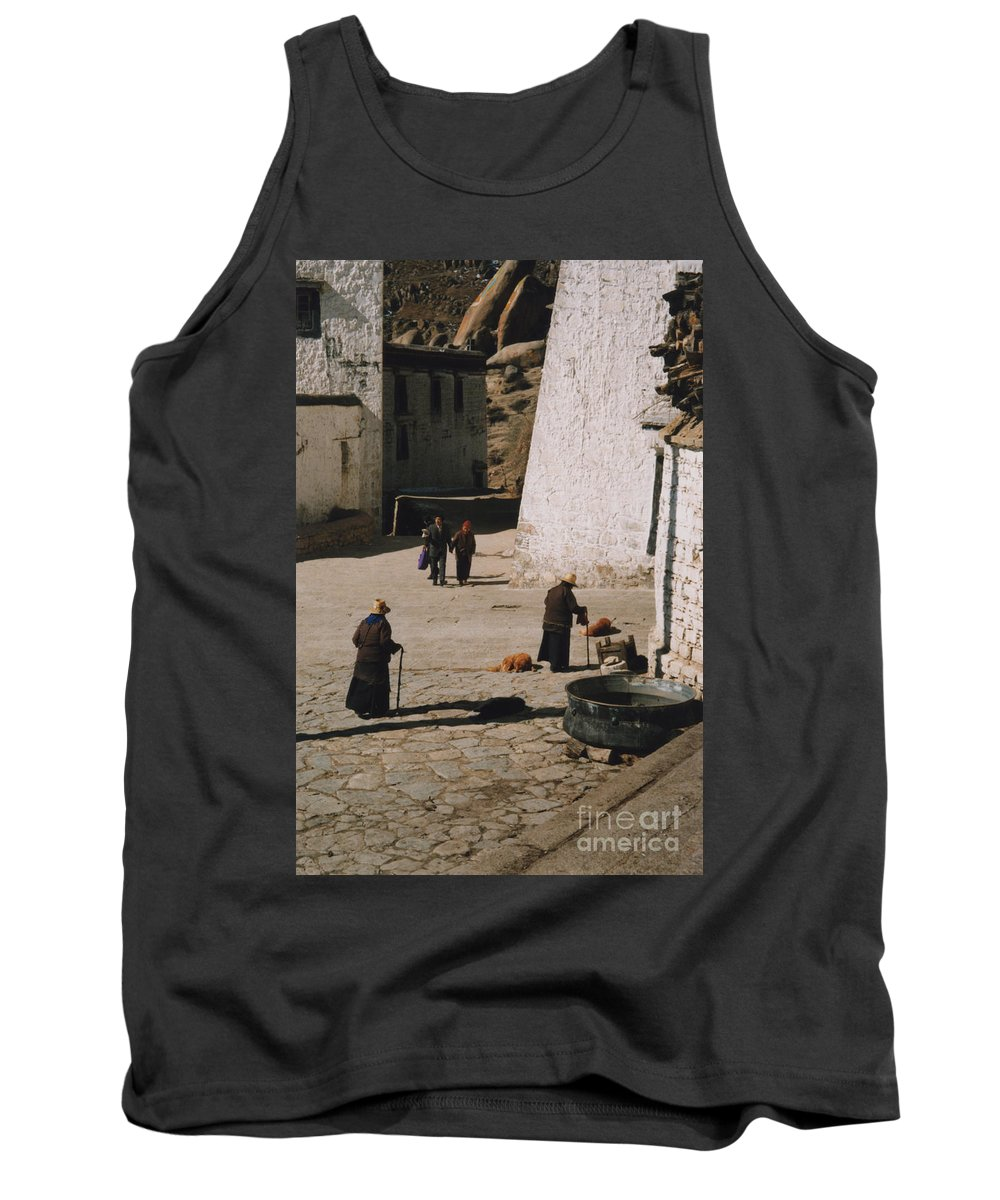 Tibet Tank Top featuring the photograph Tibet 2x2x2 By Jrr by First Star Art