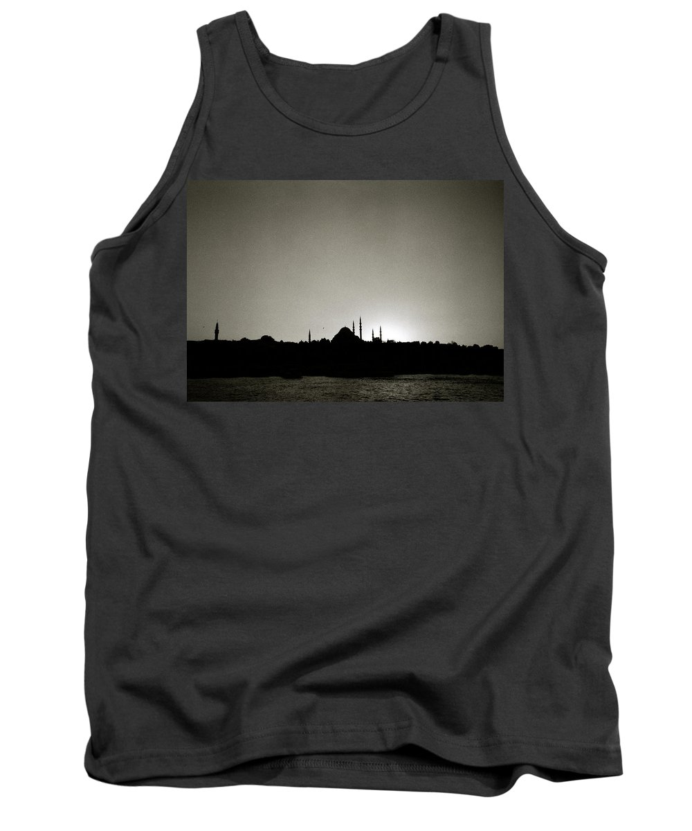 Istanbul Tank Top featuring the photograph Timeless Istanbul by Shaun Higson