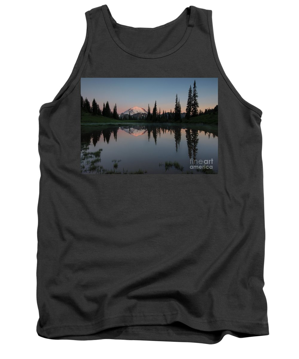 Lake Tipsoo Tank Top featuring the photograph Tipsoo Dawn by Mike Dawson