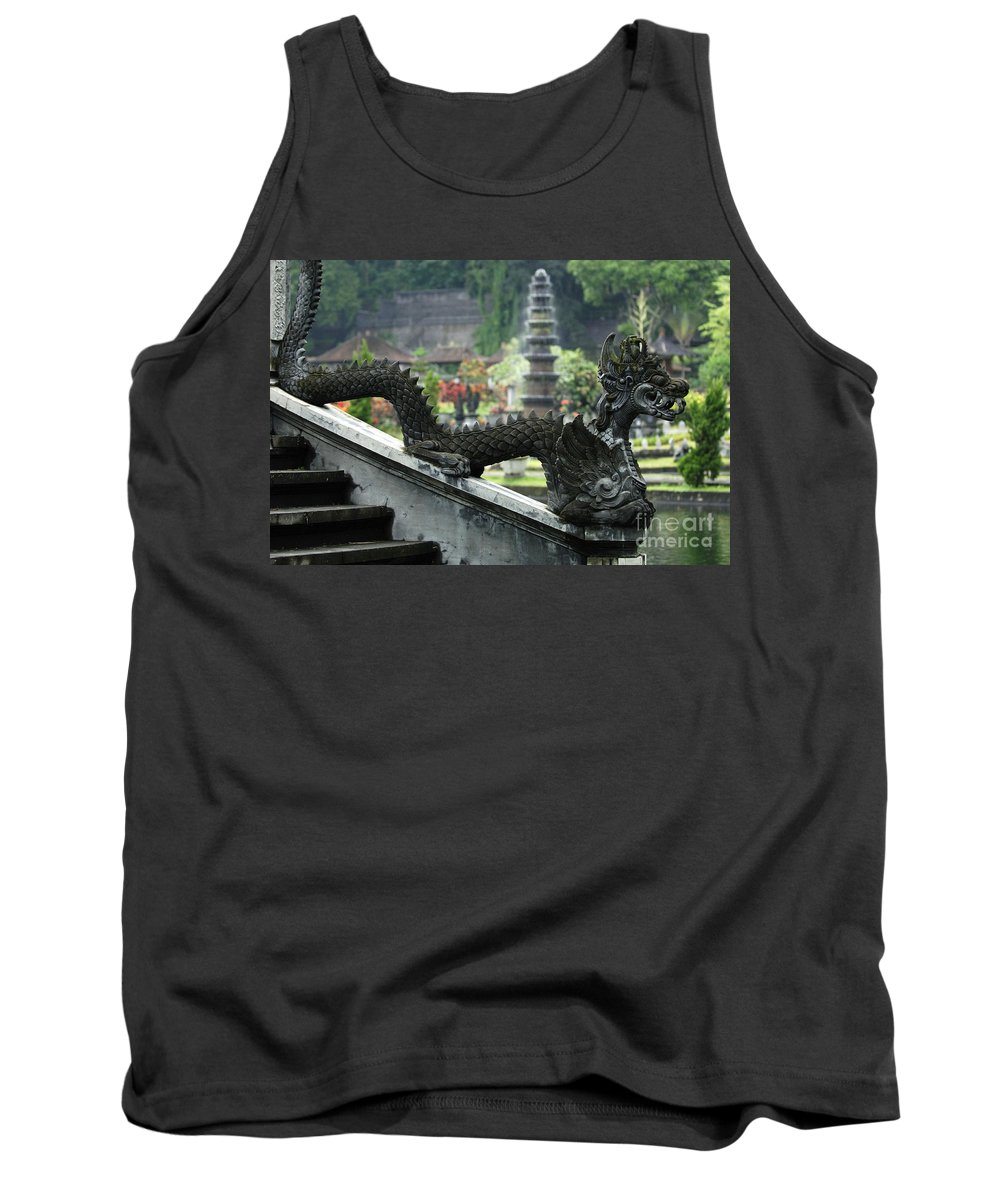 Bali Tank Top featuring the photograph Tirta Gangga Bali Indonesia by Bob Christopher