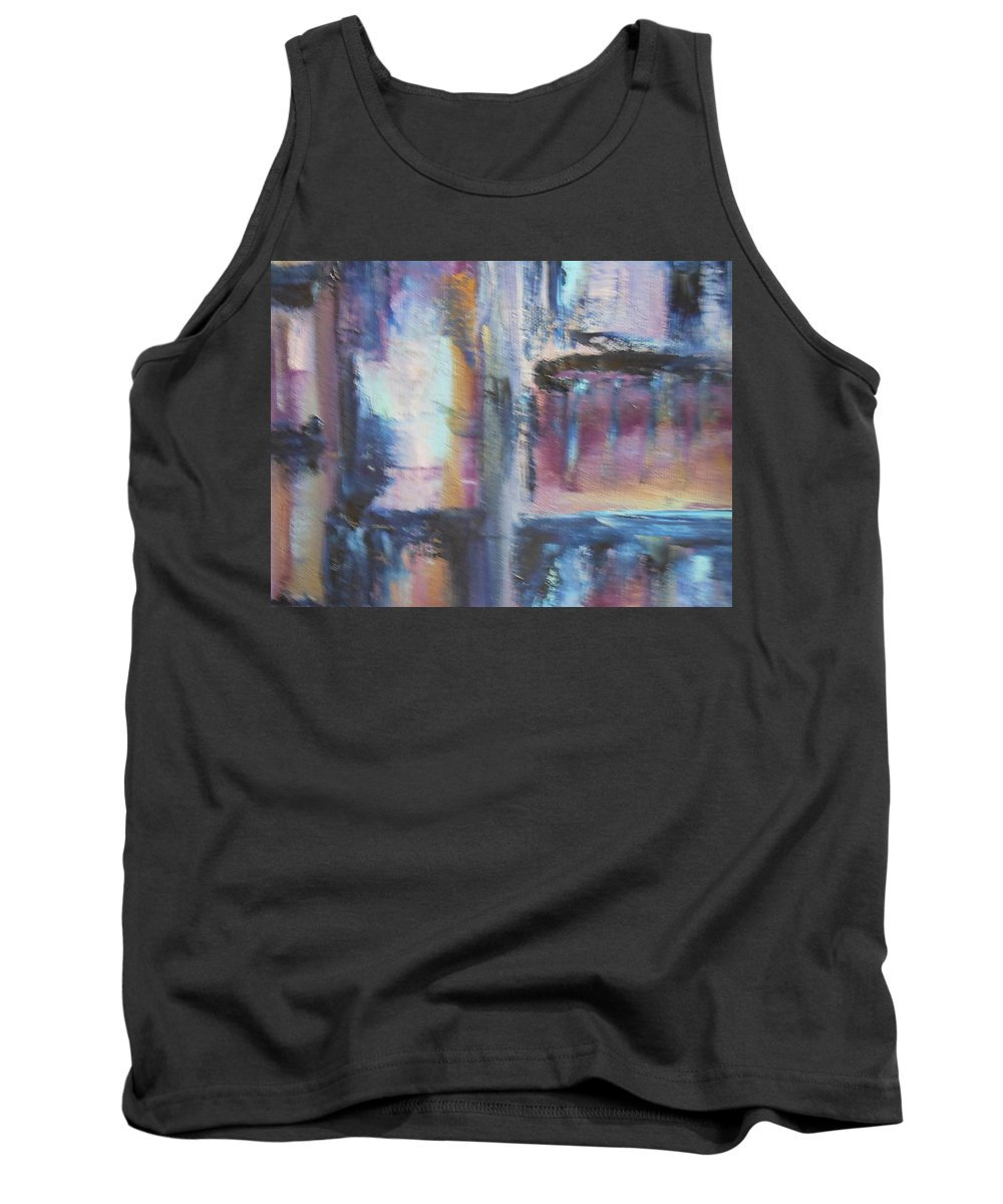 Abstract Tank Top featuring the painting Tomorrow by Lord Frederick Lyle Morris