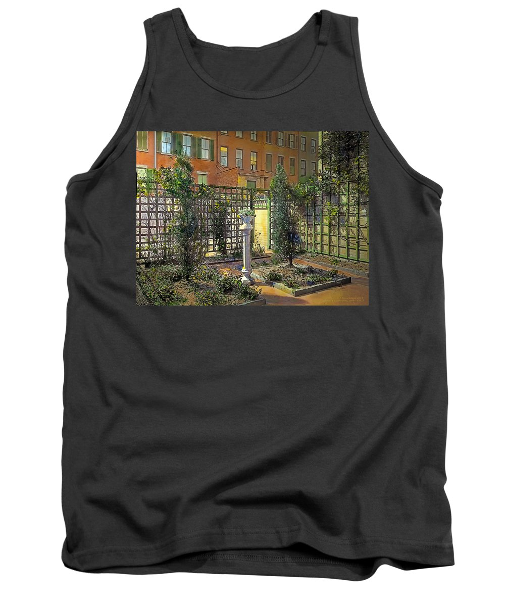 Tranquil Tank Top featuring the painting Touch Of Class by Terry Reynoldson