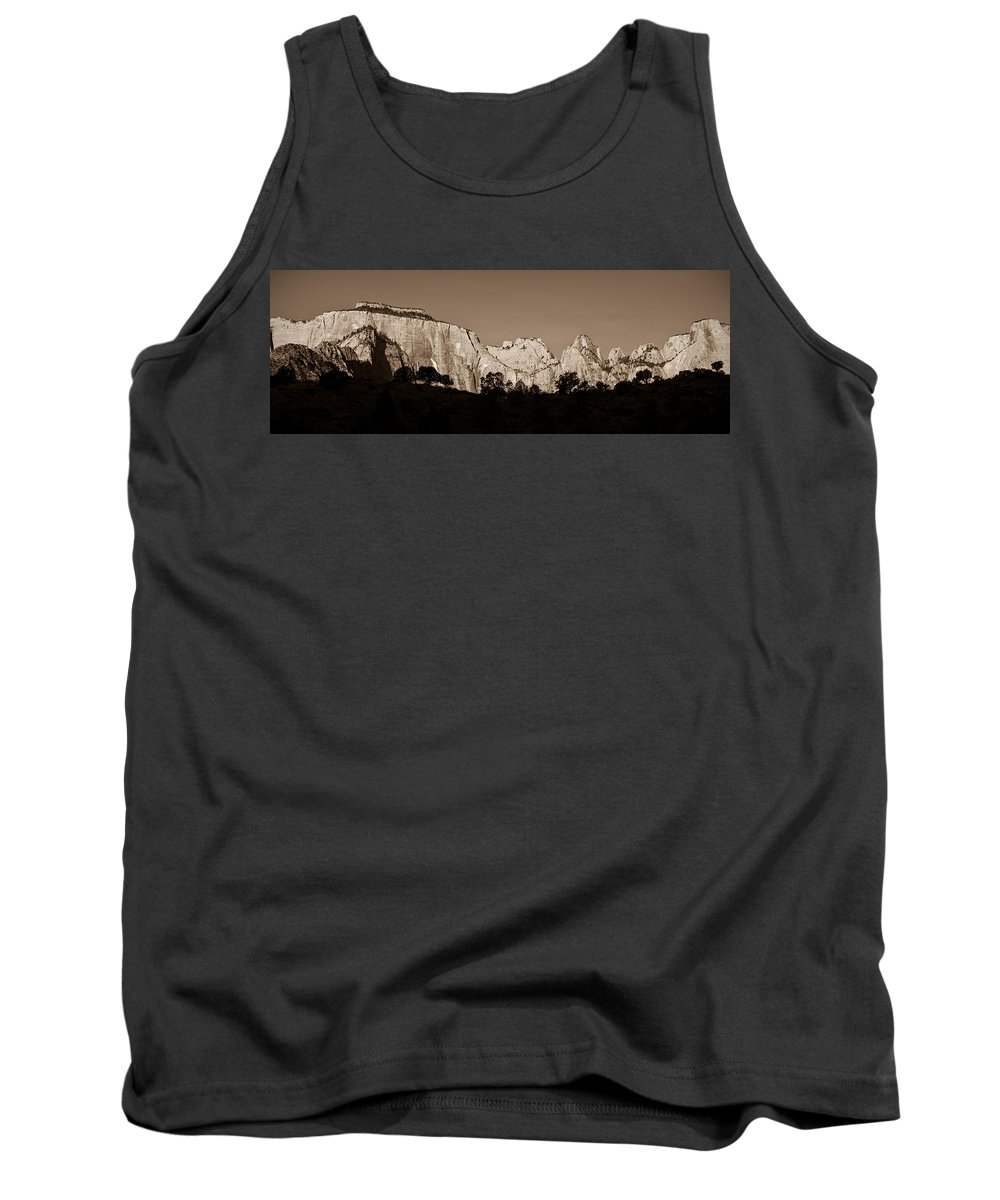 3scape Photos Tank Top featuring the photograph Towers Of The Virgin by Adam Romanowicz