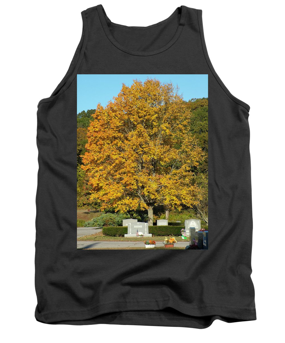 Tree Tank Top featuring the photograph Tree Of Life by Geoffrey McLean