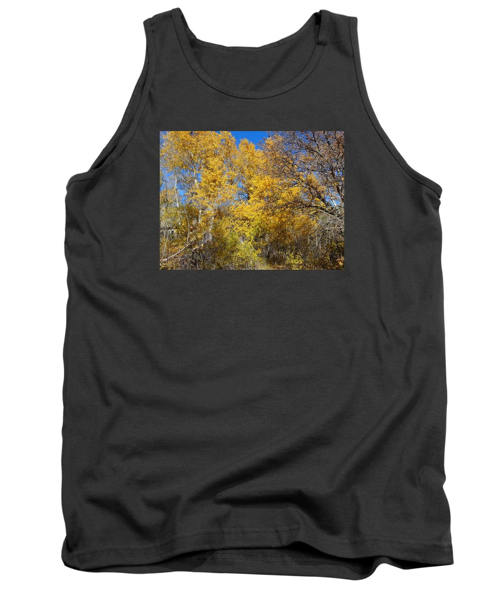 Gary Tank Top featuring the photograph Trees Of Color by Gary Simmons