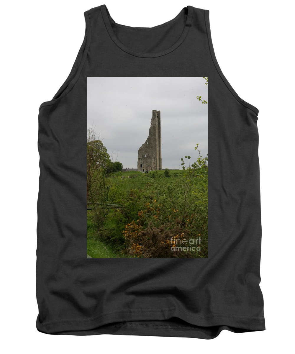 Trim Castle Tank Top featuring the photograph Trim Castle I - Ireland by Christiane Schulze Art And Photography