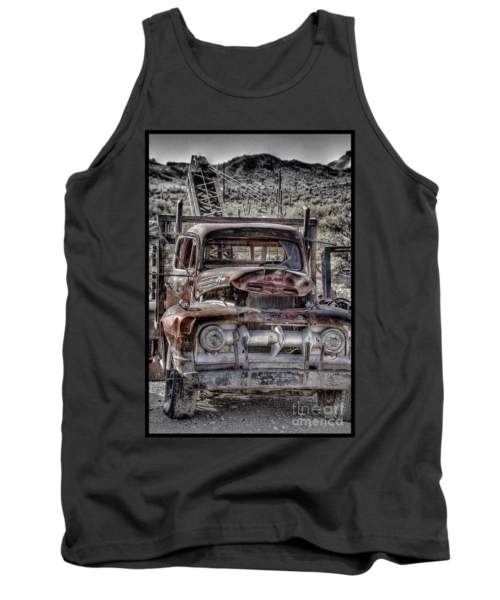 Truck Tank Top featuring the photograph Truck by Larry White
